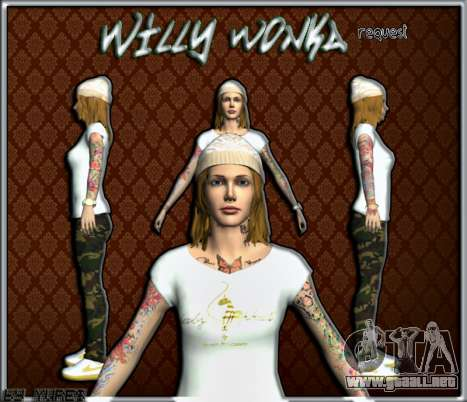 Willy Wonky para GTA San Andreas