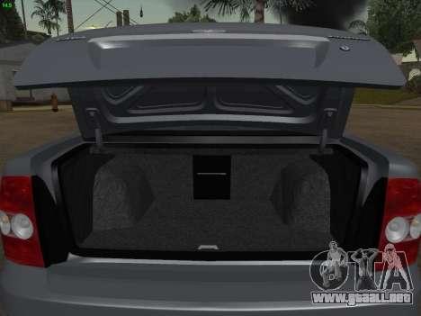 VAZ-2170 para el motor de GTA San Andreas