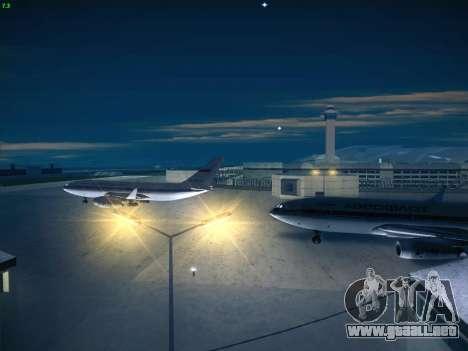 Real Airport 1.0 para GTA San Andreas sucesivamente de pantalla