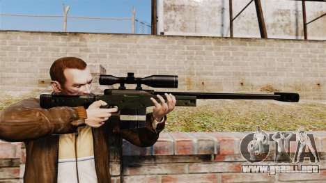 Accuracy International AW50F para GTA 4