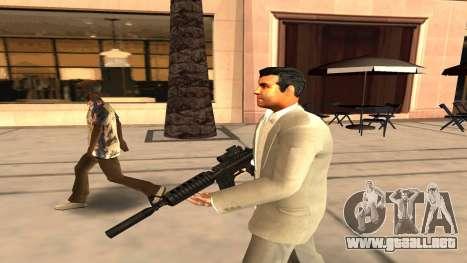 Piel de Michael de GTA V para GTA San Andreas segunda pantalla