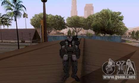 Skins Pack - Iron man 3 para GTA San Andreas segunda pantalla