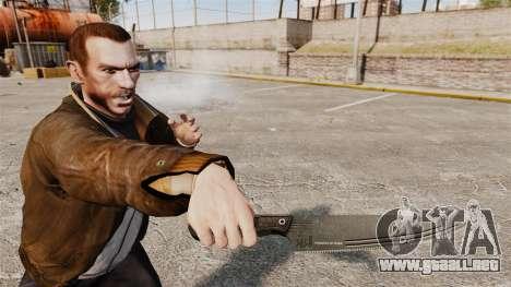 Cuchillo de cocina H & K para GTA 4 tercera pantalla