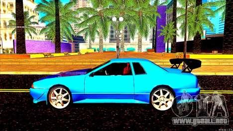 Elegy Dorifto Tune para GTA San Andreas vista posterior izquierda