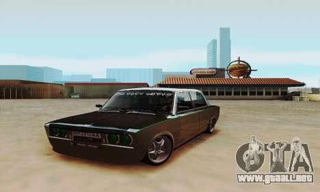 Zielonka 2106 VAZ para GTA San Andreas