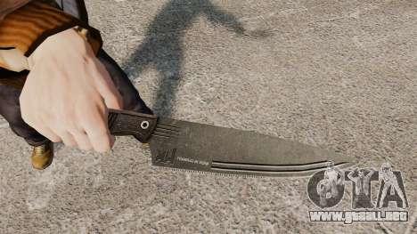 Cuchillo de cocina H & K para GTA 4 segundos de pantalla