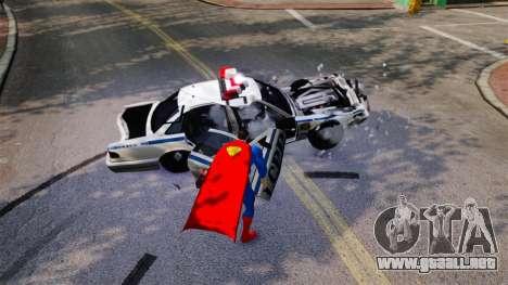 Guión de Superman para GTA 4 adelante de pantalla