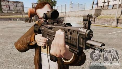 El fusil de asalto SIG 552 para GTA 4 tercera pantalla