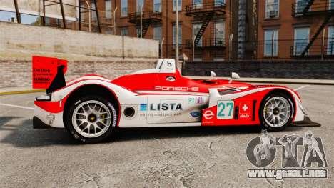 Porsche RS Spyder Evo para GTA 4 left