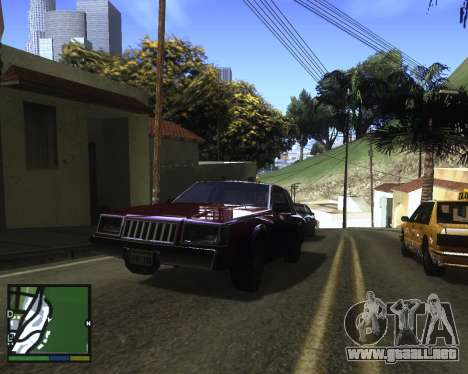ENB for low PC para GTA San Andreas quinta pantalla
