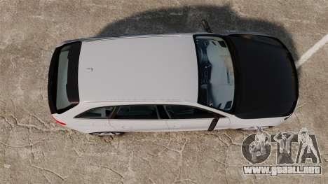 Audi RS4 Avant 2013 Sport v2.0 para GTA 4 visión correcta