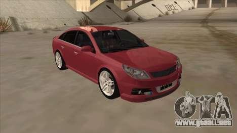 Opel Vectra C Irmscher para GTA San Andreas left