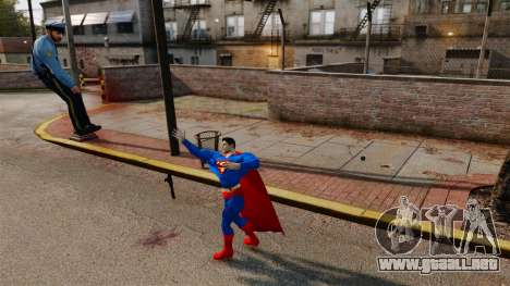 Guión de Superman para GTA 4 quinta pantalla