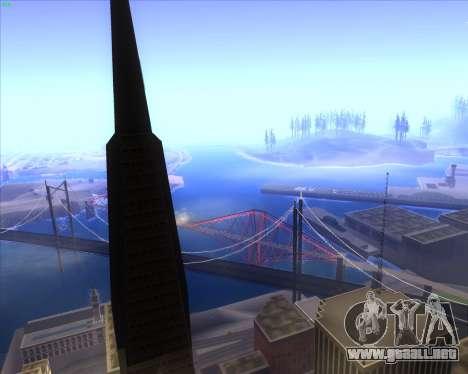 ENBSeries by MatB1200 para GTA San Andreas segunda pantalla