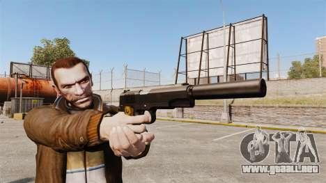 V1 pistola Colt 1911 para GTA 4 tercera pantalla