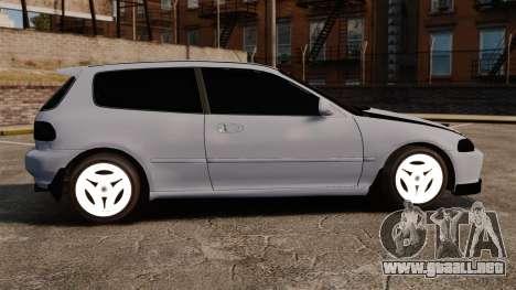Honda Civic Gtaciyiz para GTA 4 left