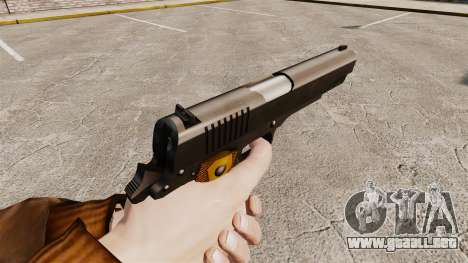 V2 pistola Colt 1911 para GTA 4 segundos de pantalla