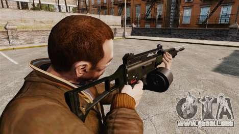 Rifle de asalto MG36 H & K v2 para GTA 4 segundos de pantalla