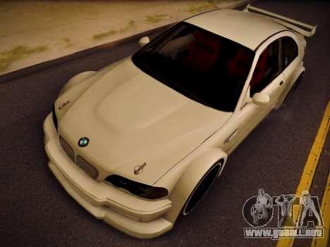BMW M3 E46 Tuning para la visión correcta GTA San Andreas
