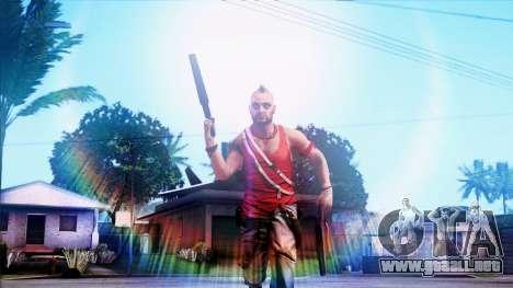 SA::Crown para GTA San Andreas segunda pantalla