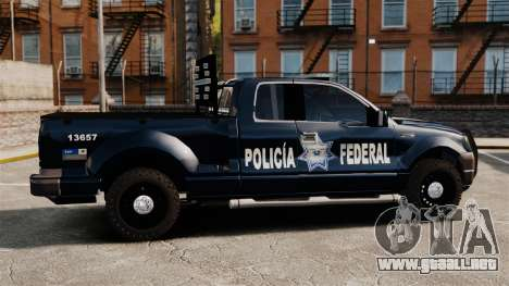 Ford F-150 De La Policia Federal [ELS & EPM] v3 para GTA 4 left