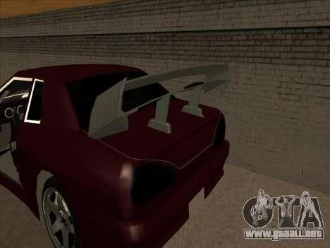 Elegía por PiT_buLL para GTA San Andreas vista hacia atrás