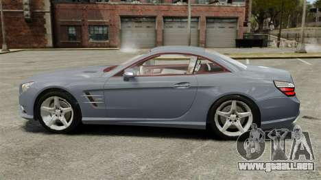 Mercedes-Benz SL500 2013 para GTA 4 left