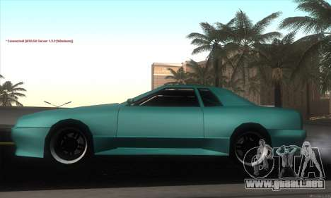 Elegy Edit para GTA San Andreas left