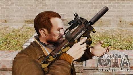 Belga FN P90 subfusil ametrallador v6 para GTA 4
