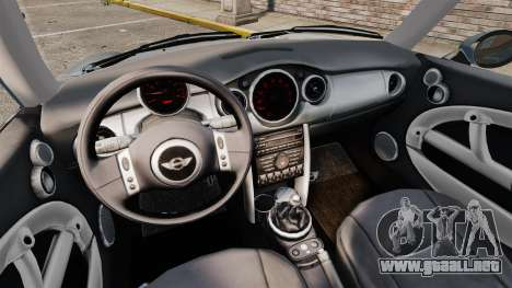 Mini Cooper S 2008 v2.0 para GTA 4 vista interior