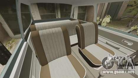Volkswagen Brasilia para GTA 4 vista lateral