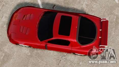 Mazda RX-7 para GTA 4 visión correcta