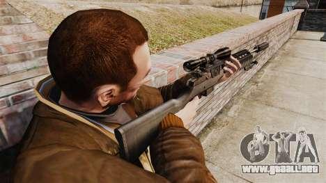 M21 sniper rifle v1 para GTA 4 segundos de pantalla