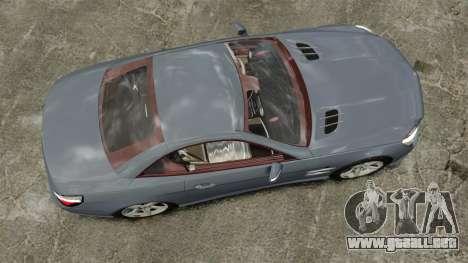 Mercedes-Benz SL500 2013 para GTA 4 visión correcta