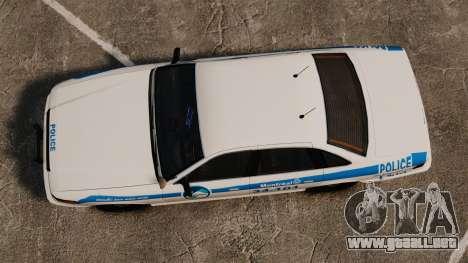 Montreal policía v1 para GTA 4 visión correcta