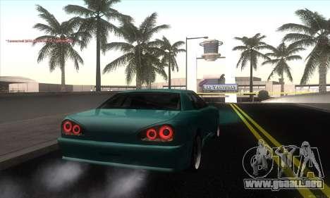 Elegy Edit para GTA San Andreas vista posterior izquierda