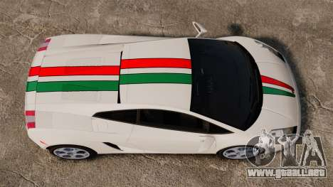 Lamborghini Gallardo 2005 [EPM] Italian para GTA 4 visión correcta