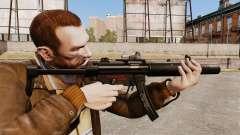 MP5SD subfusil ametrallador v2 para GTA 4