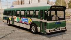 El anuncio nuevo en el autobús