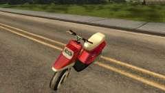 MBK Booster Spirit para GTA San Andreas