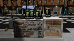 Bebida energética Monster Energy para GTA 4