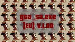 Gta_sa.exe archivo original [EU] v. 1.00 para GTA San Andreas