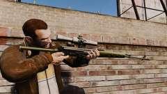 V3 de rifle de francotirador Dragunov para GTA 4