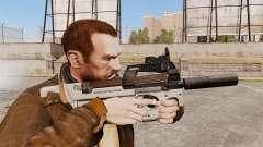 Belga FN P90 subfusil ametrallador v3 para GTA 4