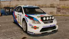 Ford Focus RS Martini WRC para GTA 4