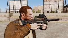 Belga FN P90 subfusil ametrallador v1 para GTA 4