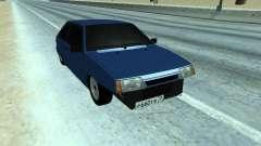 VAZ 2108 una docena azul para GTA San Andreas