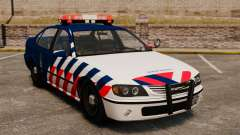 La policía militar holandesa