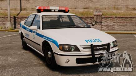 Montreal policía v2 para GTA 4