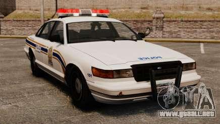 Policía de Sherbrooke para GTA 4